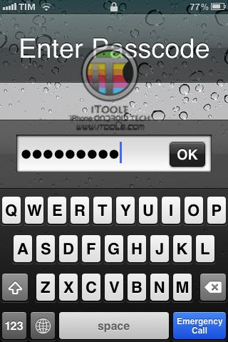 Passcode-demo