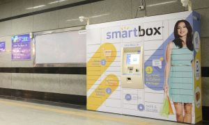Smartbox Automated delivery terminal